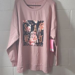 Betsey Johnson Stay Wild Crewneck
